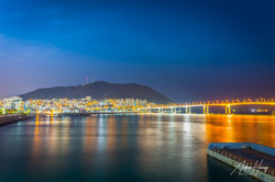 Busan Beach Night Shot