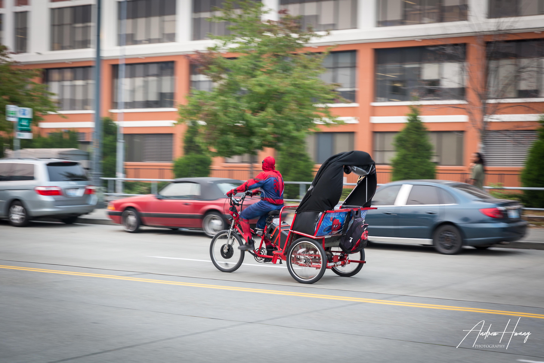 Spider Man Downtown Seattle
