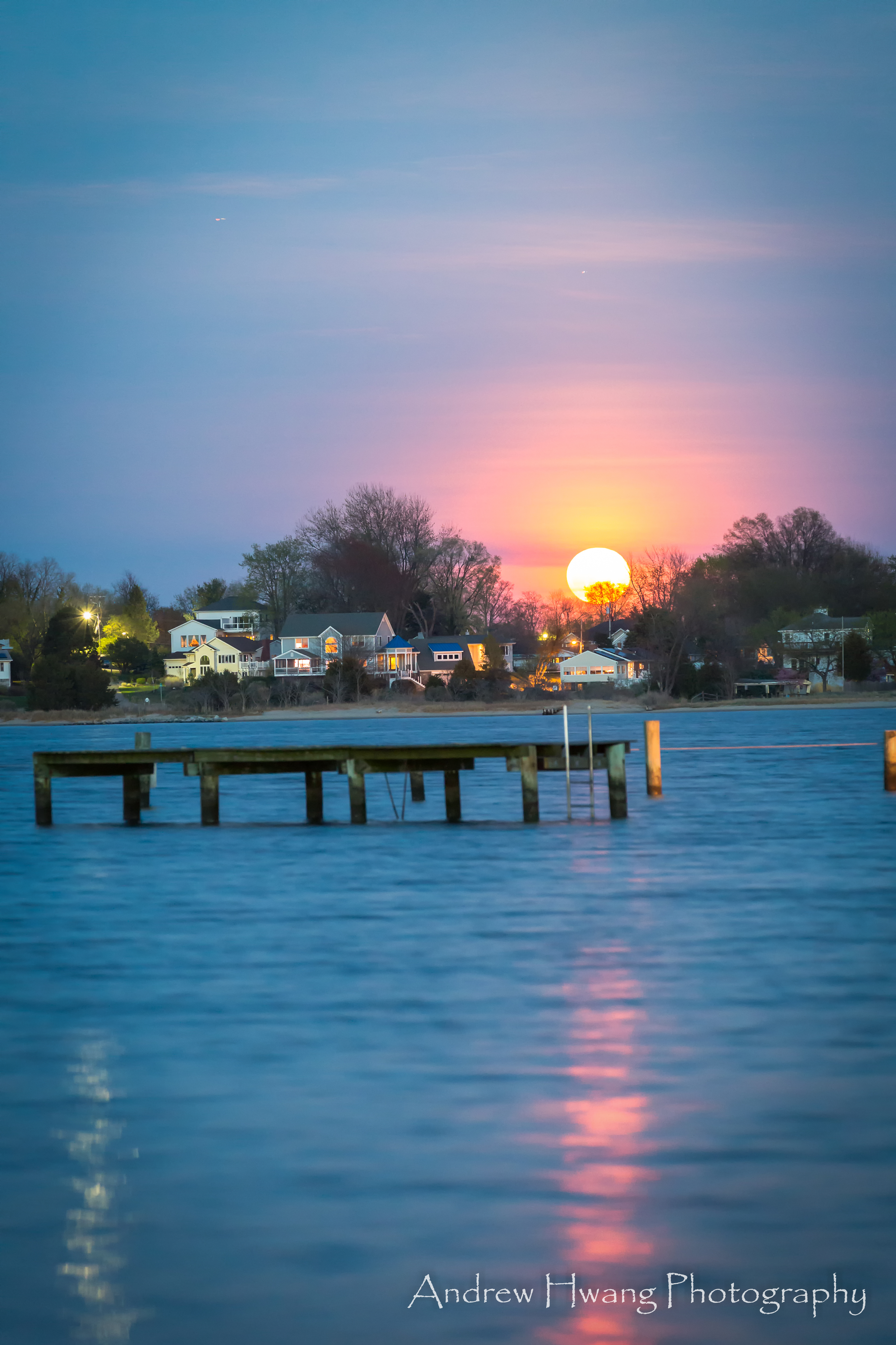 Selby on the Bay Pink Moon