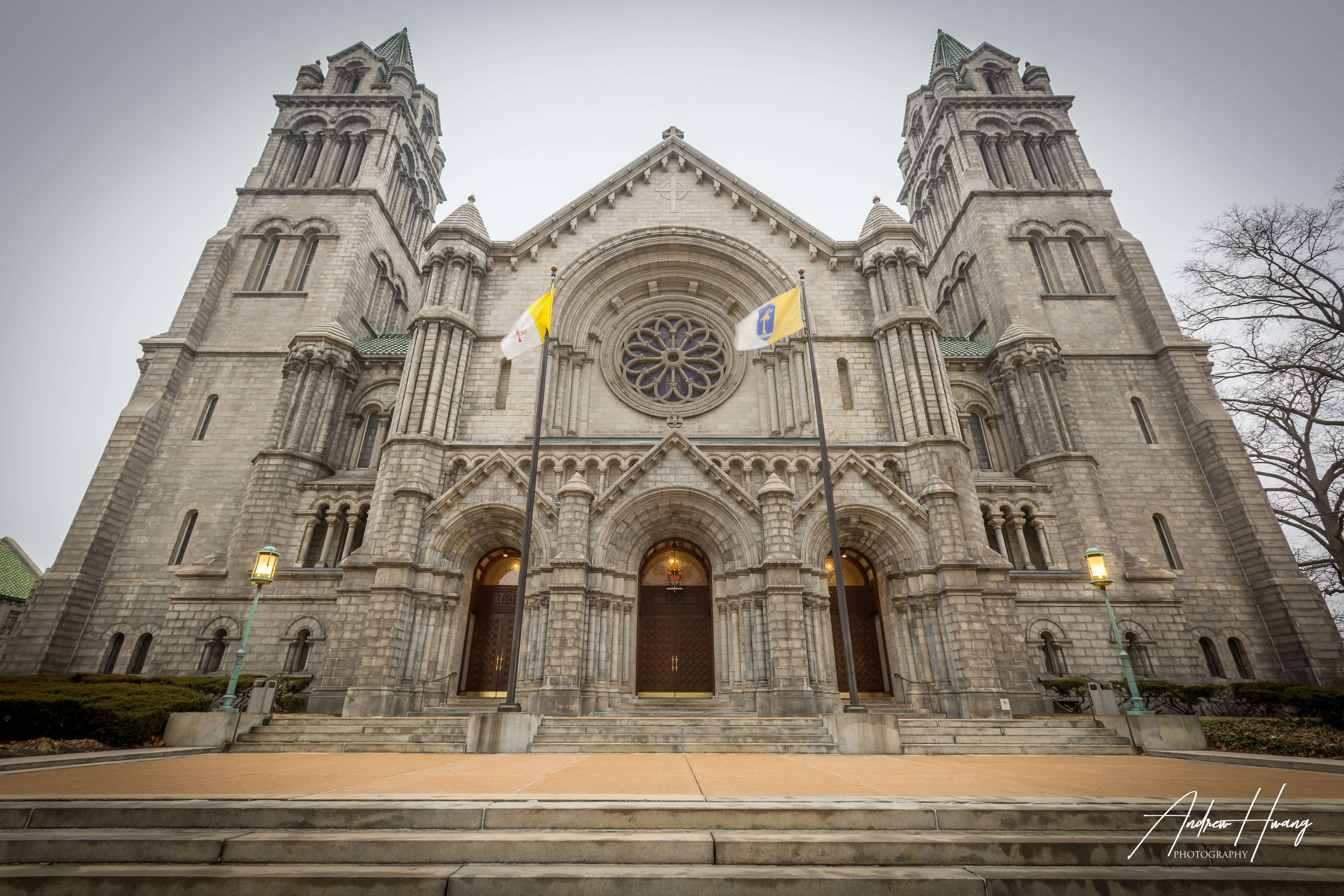 St Louis Cathedral Basilica Exterior