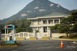 Korean President Location