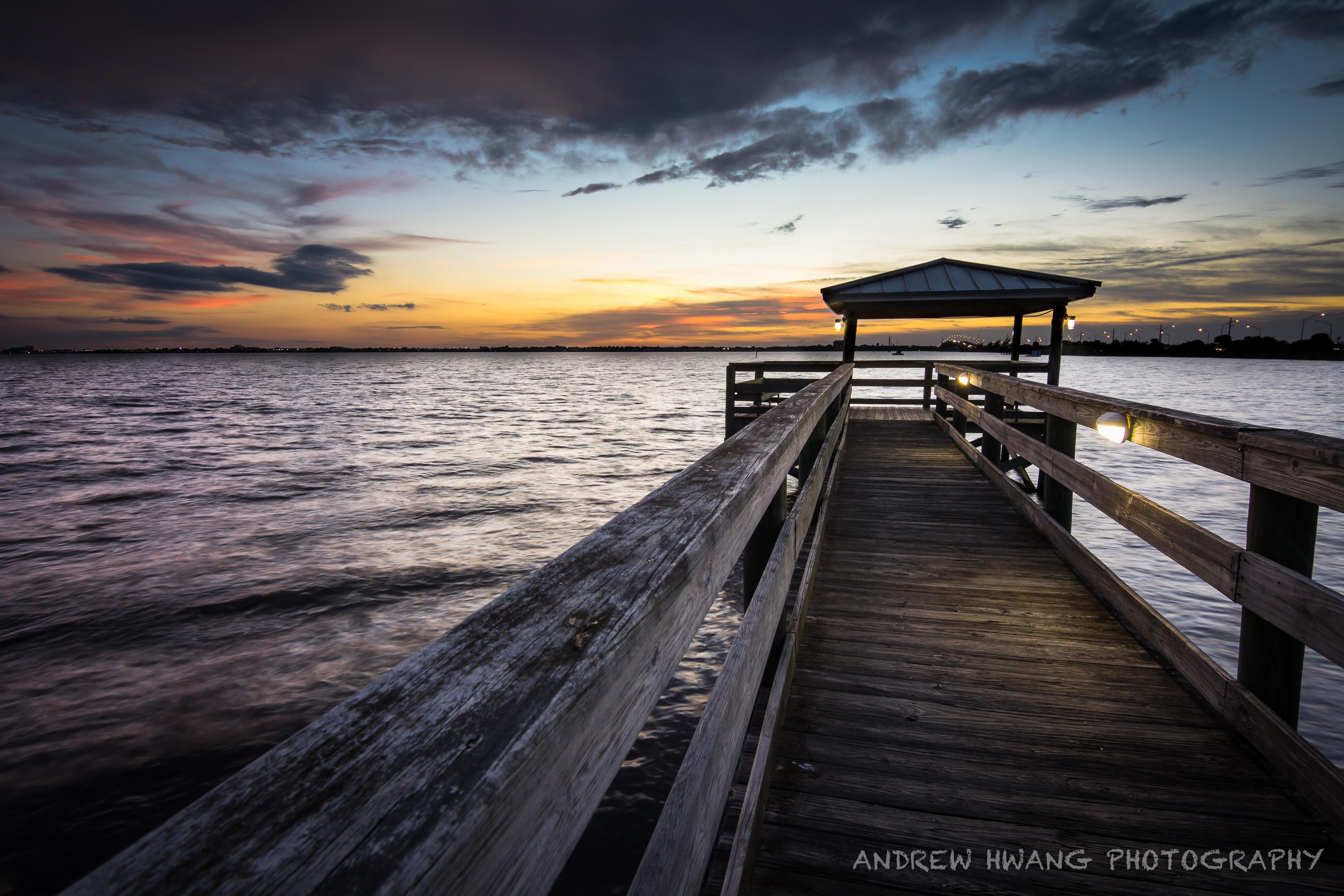 Melbourne Fl Random Pier Sunset