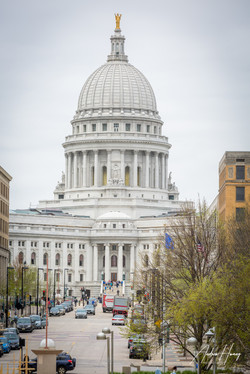 Wisconsin State Capitol Building Streets