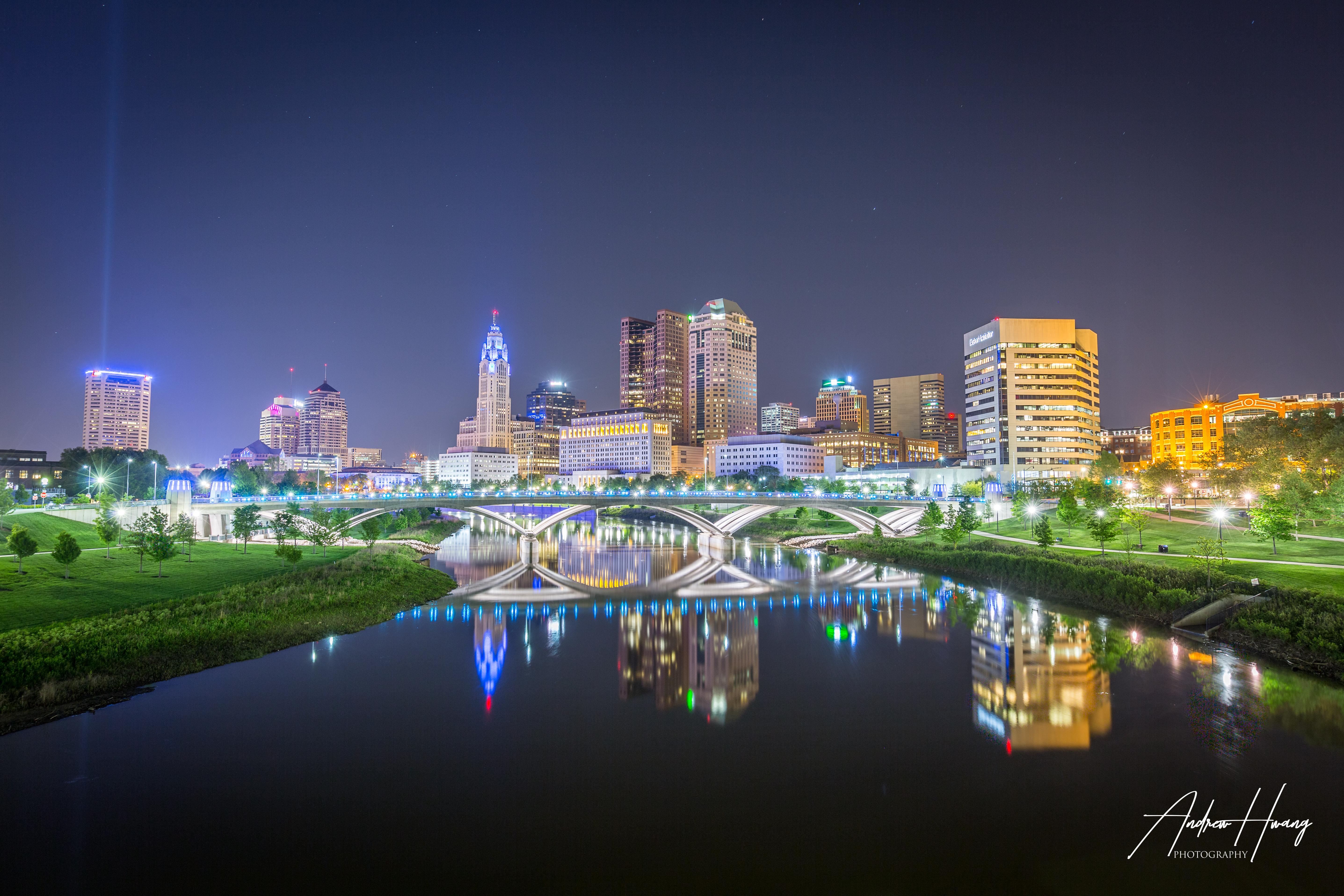 Twilight Downtown Columbus