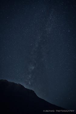 Gates Pass Milky Way