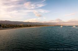 Santa Barbara Sunset Pier Side