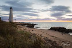 5 Mile Lighthouse Golden Hour