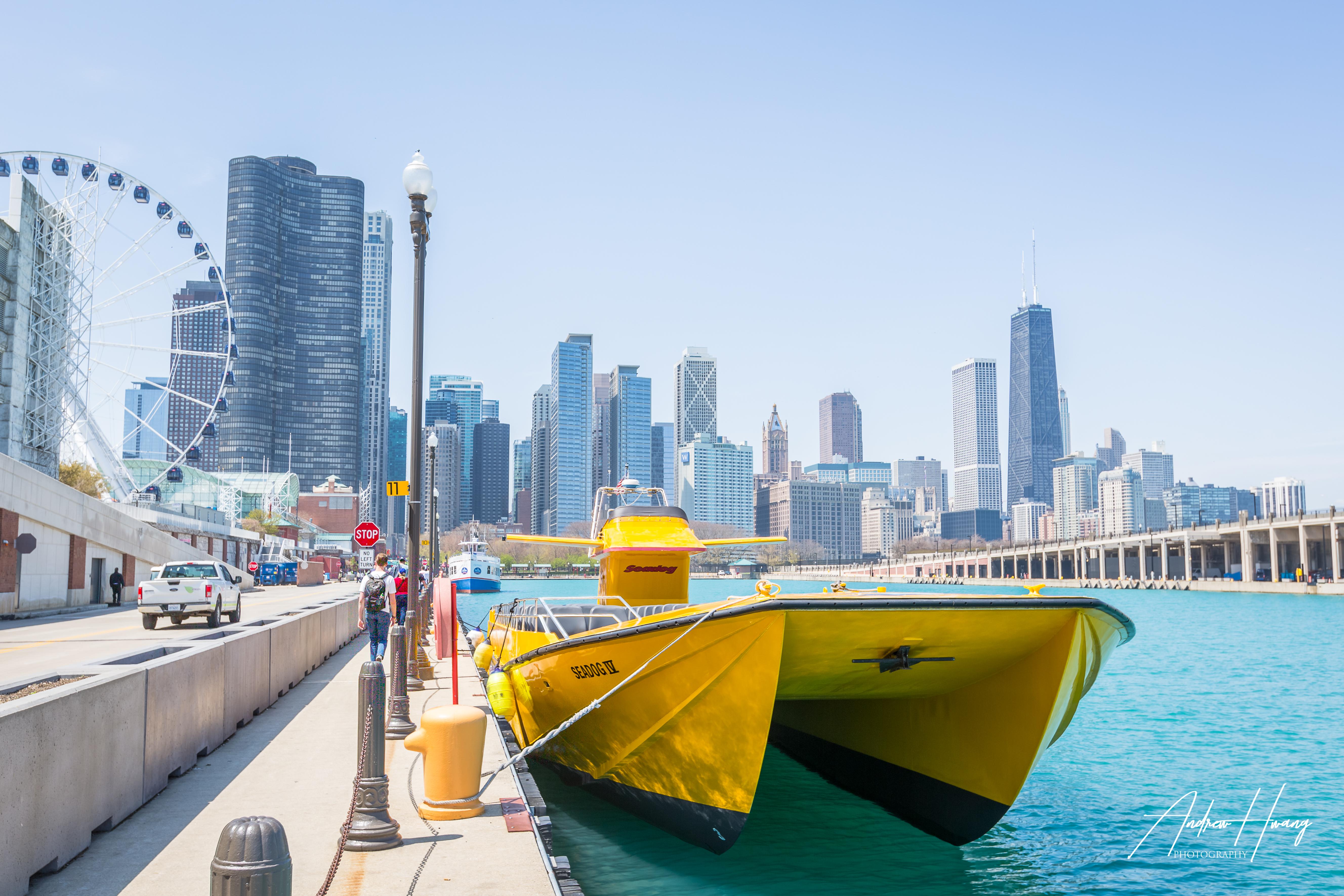 Navy Pier Speed Boat