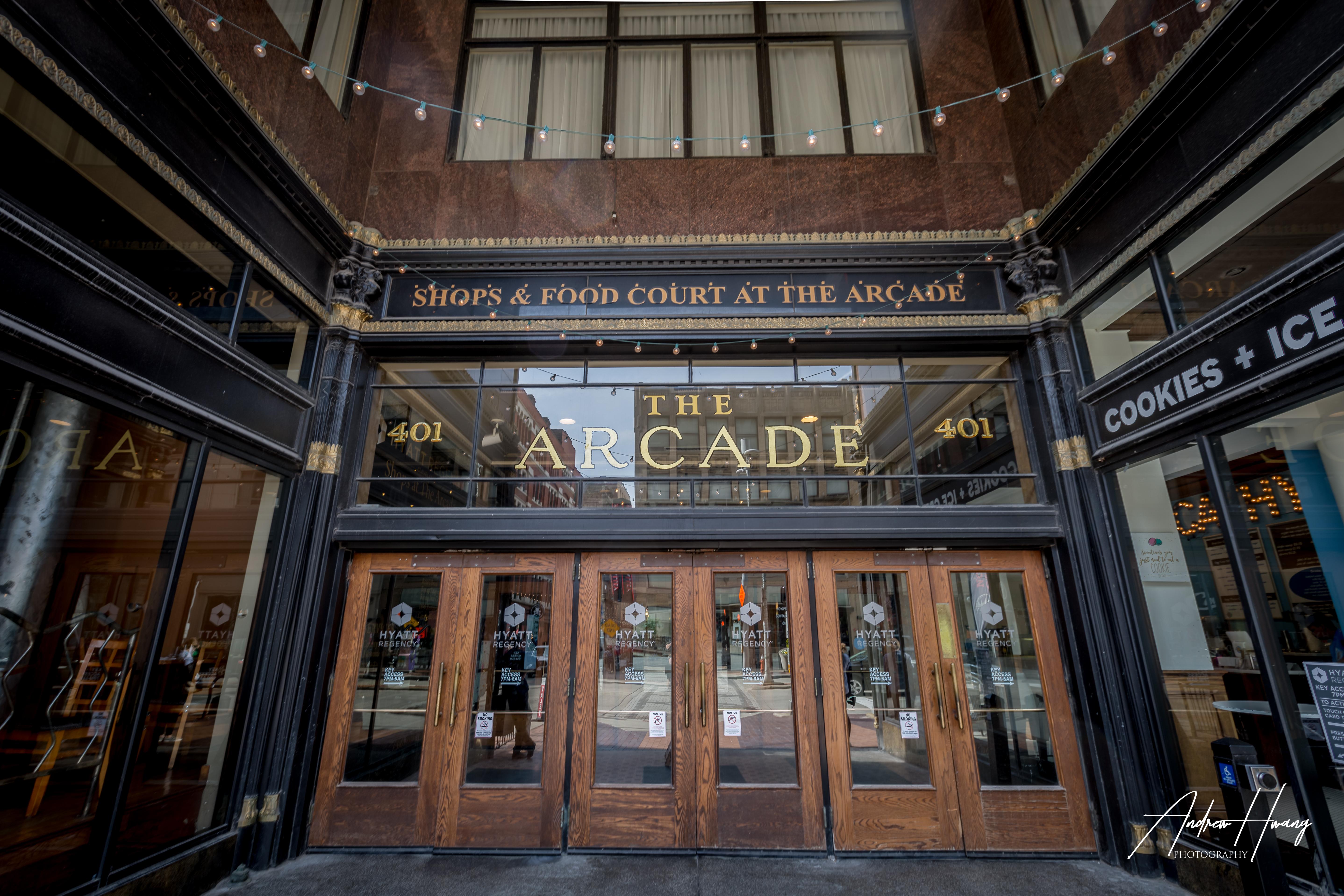 The Arcade Outside
