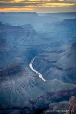 River Through the Canyon