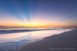 Melbourne Fl Sunrise Ocean Front