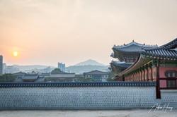 Gyeongbokgung Palace Sunset_Namsan Mount