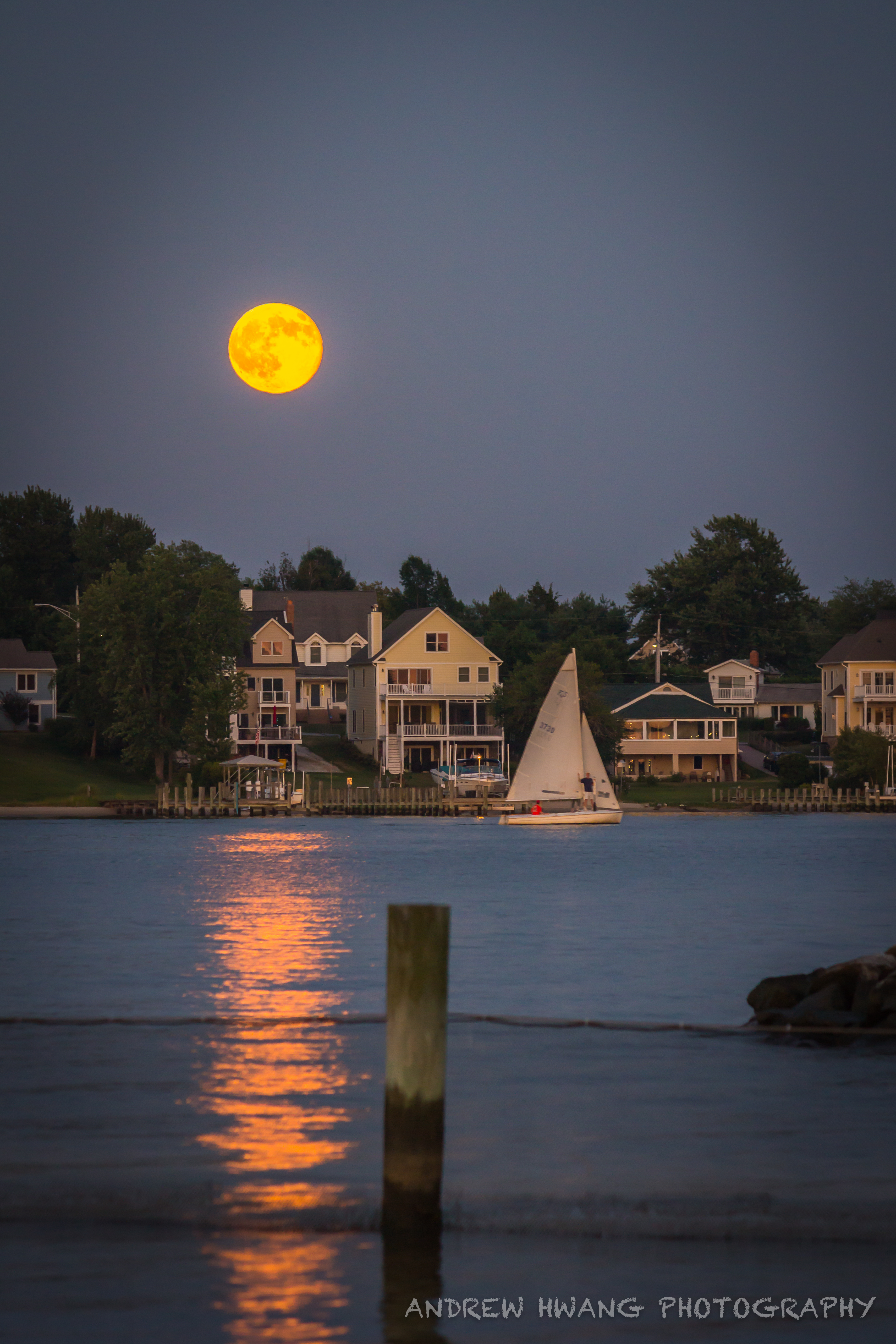 Supermoon Selby on the Bay 2