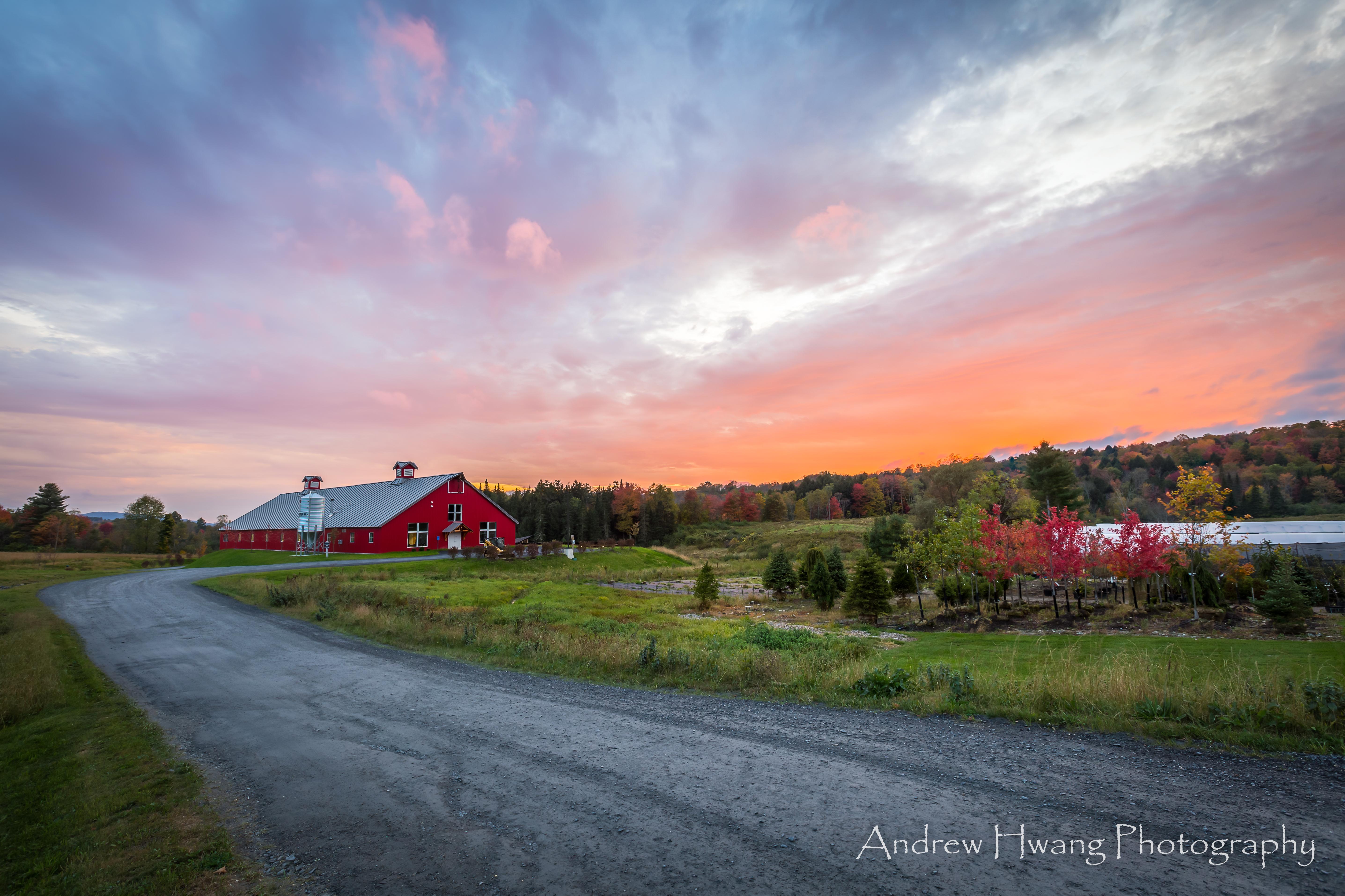 Farm Life Sunset VT