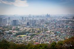 Downtown Seoul from Namsan Mountain