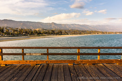 Santa Barbara Pier Sunset