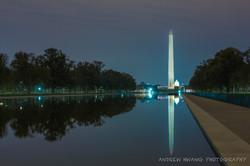 Washington Monument Reflection Pool Night Shot 2