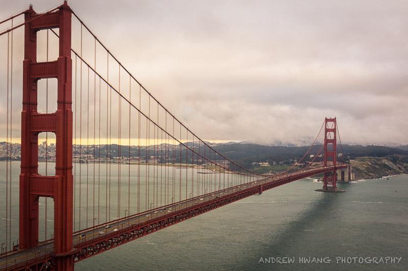 Golden Gate Bridge Vantage Point