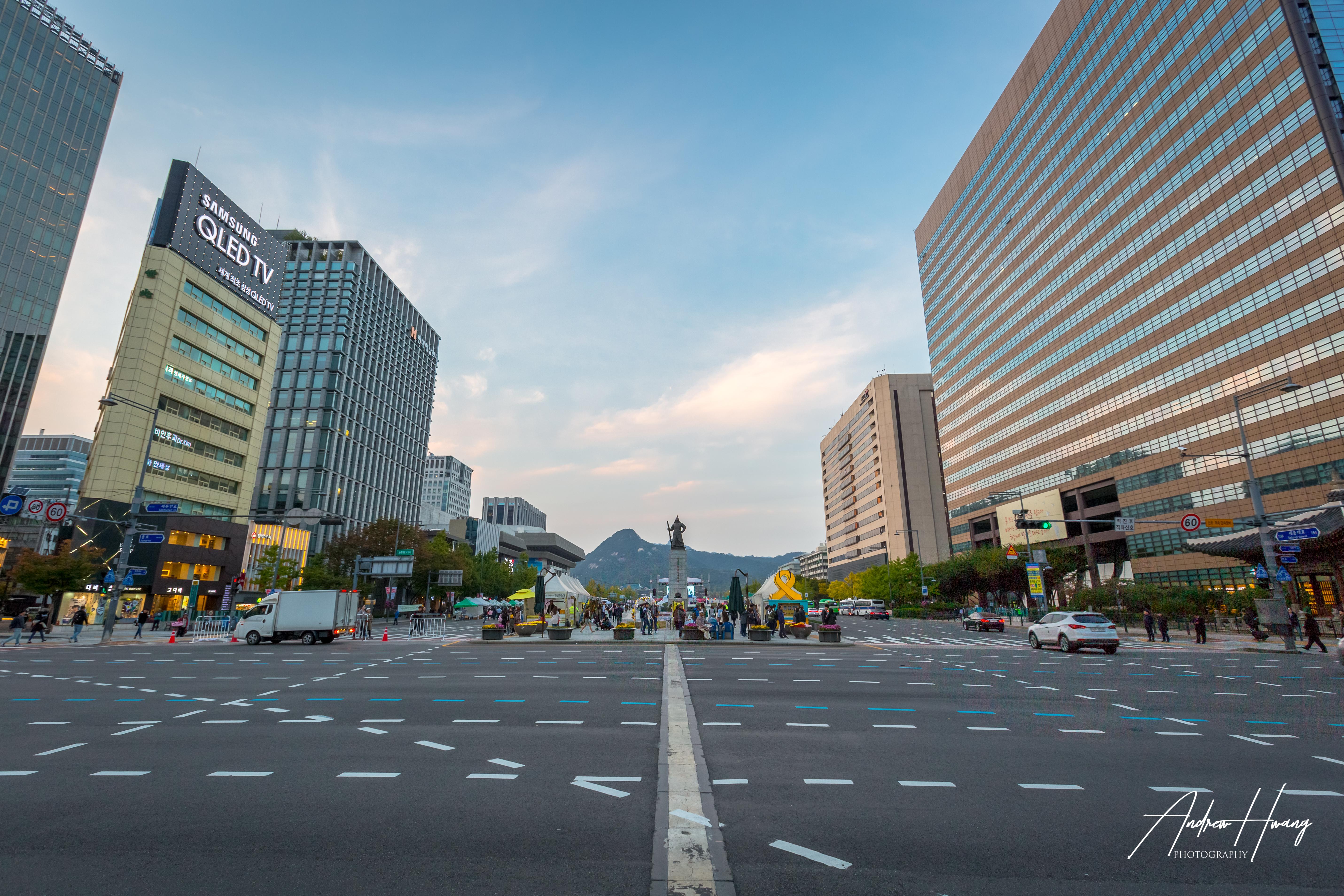 Namdaemun Market Blue Hour