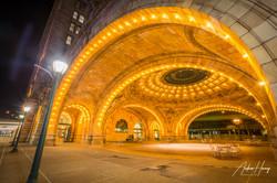 Union Station Night Arch