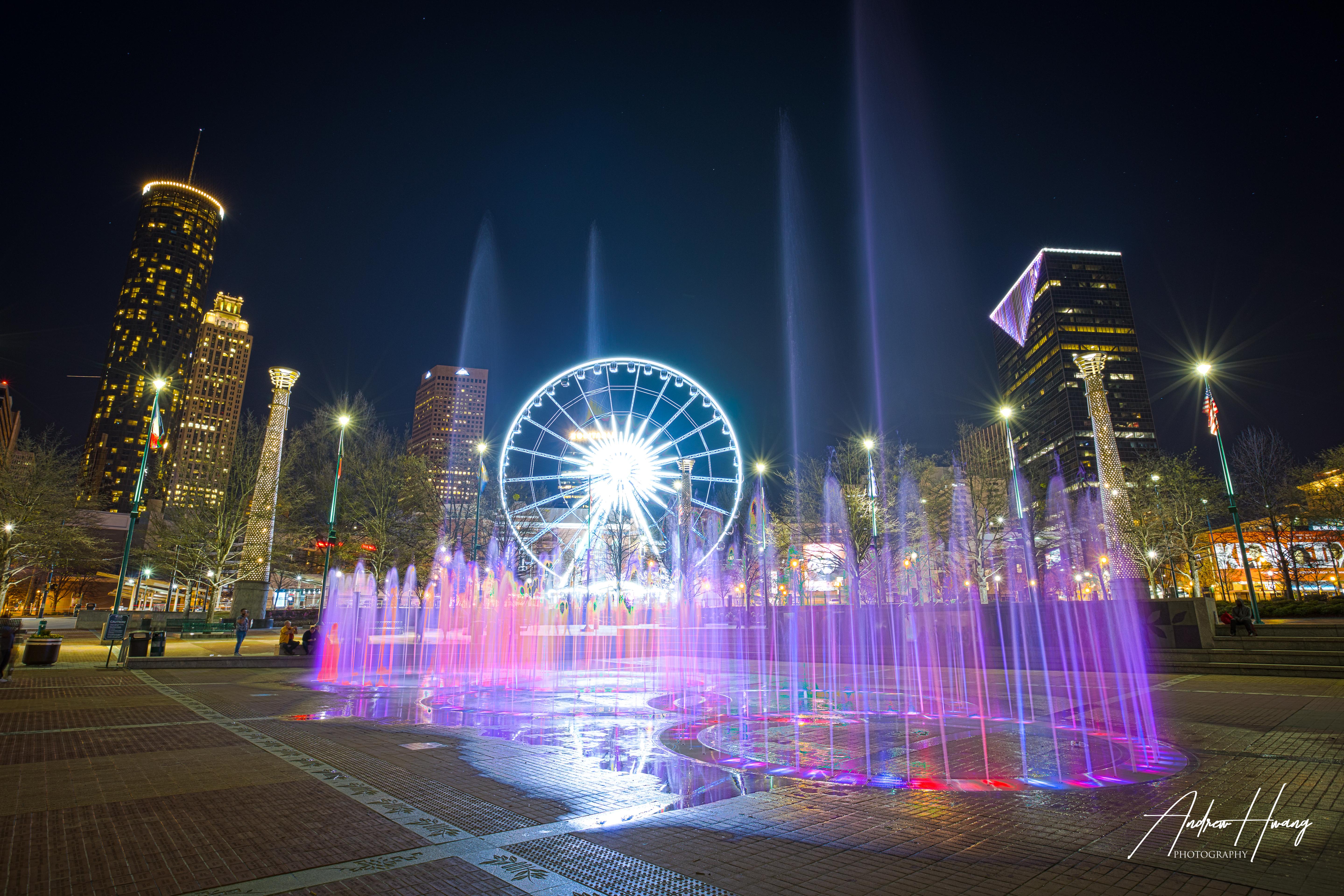 Skyview Water Fountain - Atlanta
