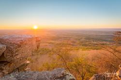 Cheaha Mountain Sunset
