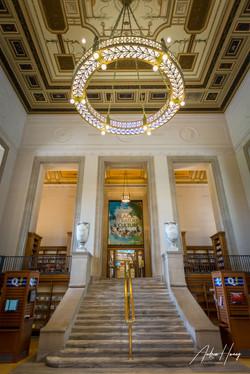 Indianapolis Public Library Entrance