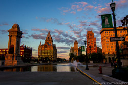 Downtown Syracuse Golden Hour