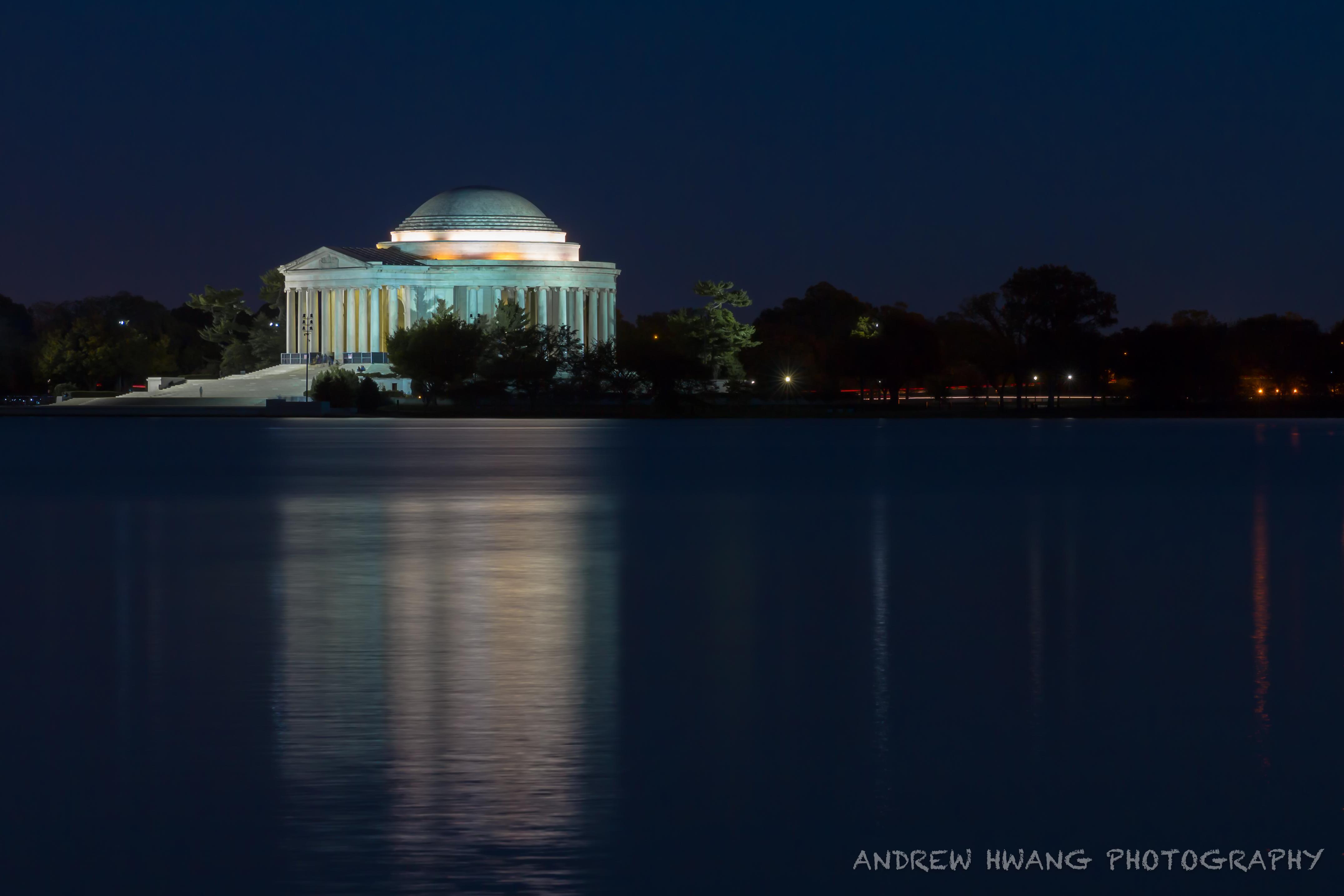 Thomas Jefferson Memorial Night Shot