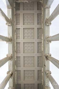 Roger Williams Park Temple of Music Ceil