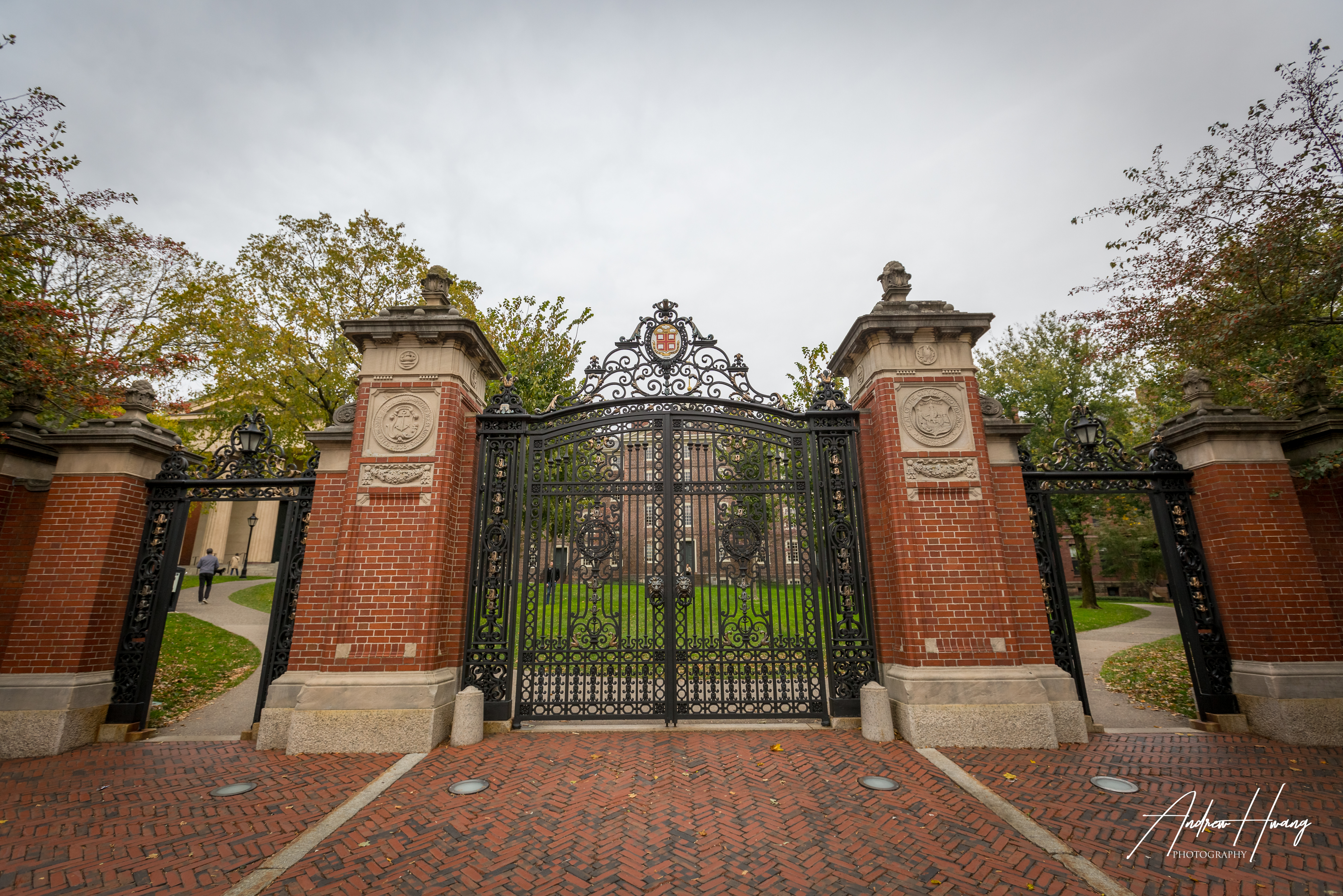 Brown University Front Gates
