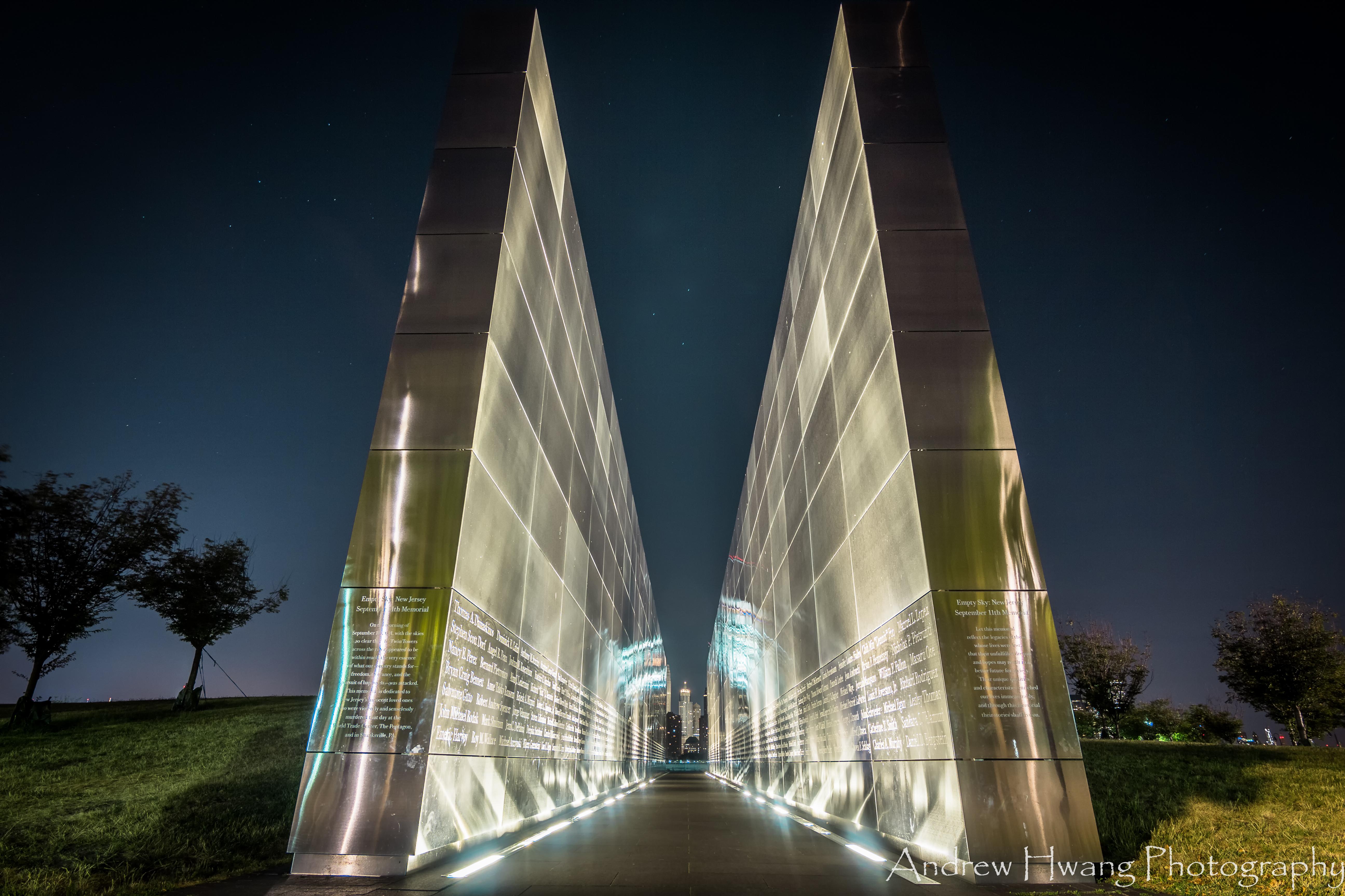 Empty Sky Memorial Dusk