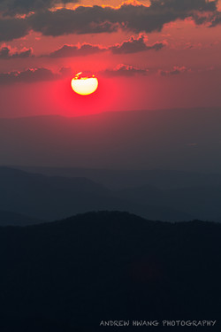 Clingmans Dome Sunset Smoky Mountains 3