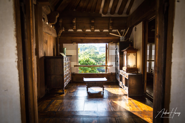 Namsangol Hanok Village Inside House