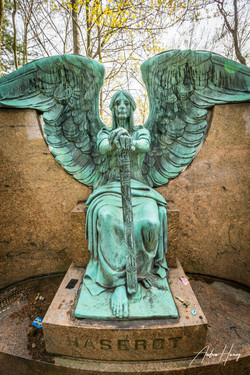 Lake View Cemetary The Angel of Death Vi