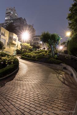 Lombard Street Night 2