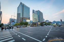 Namdaemun Market Seoul Sunset