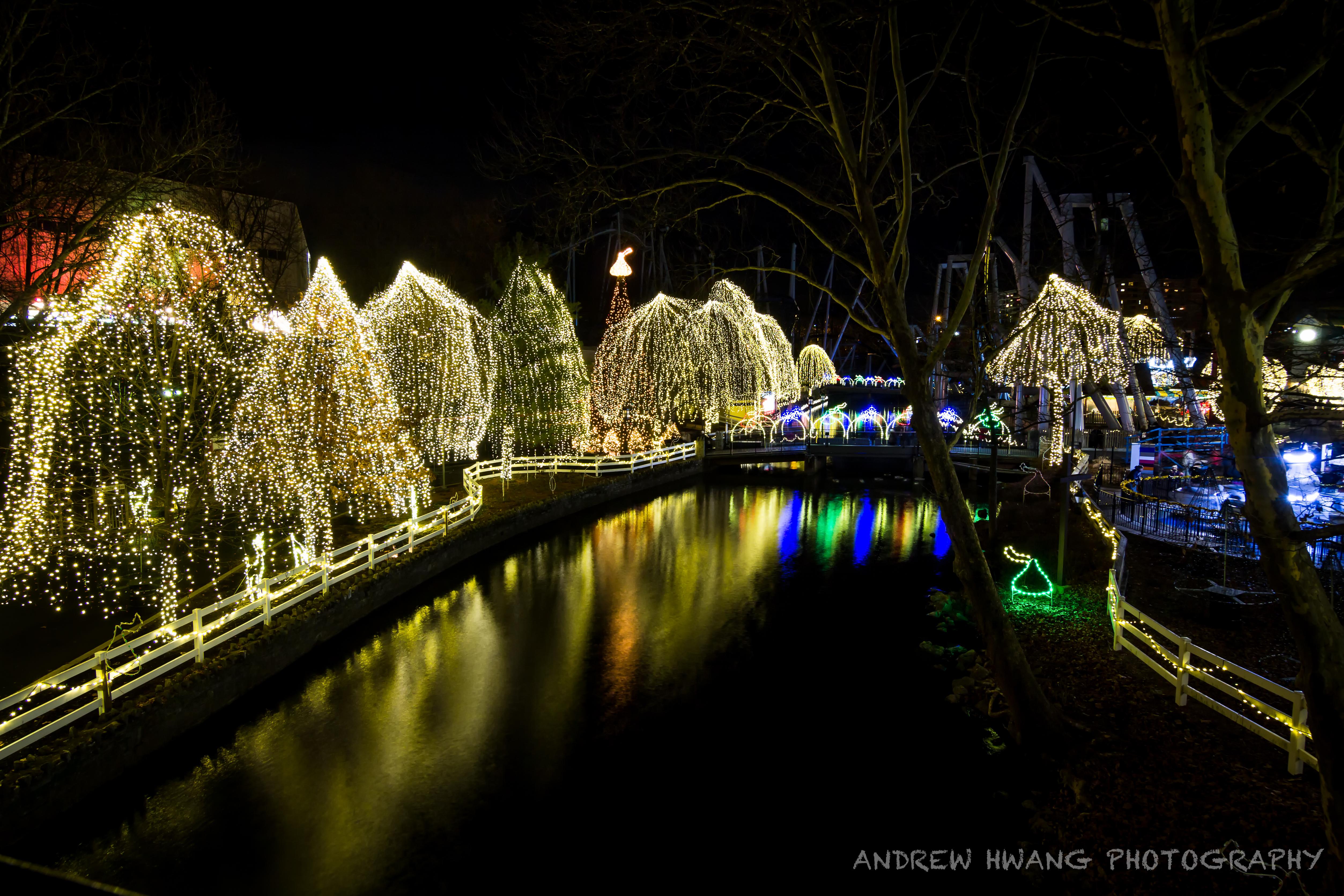 Hershey Park Light Show