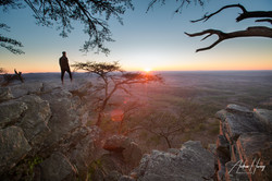 On Top of Cheaha Mountain Sunset