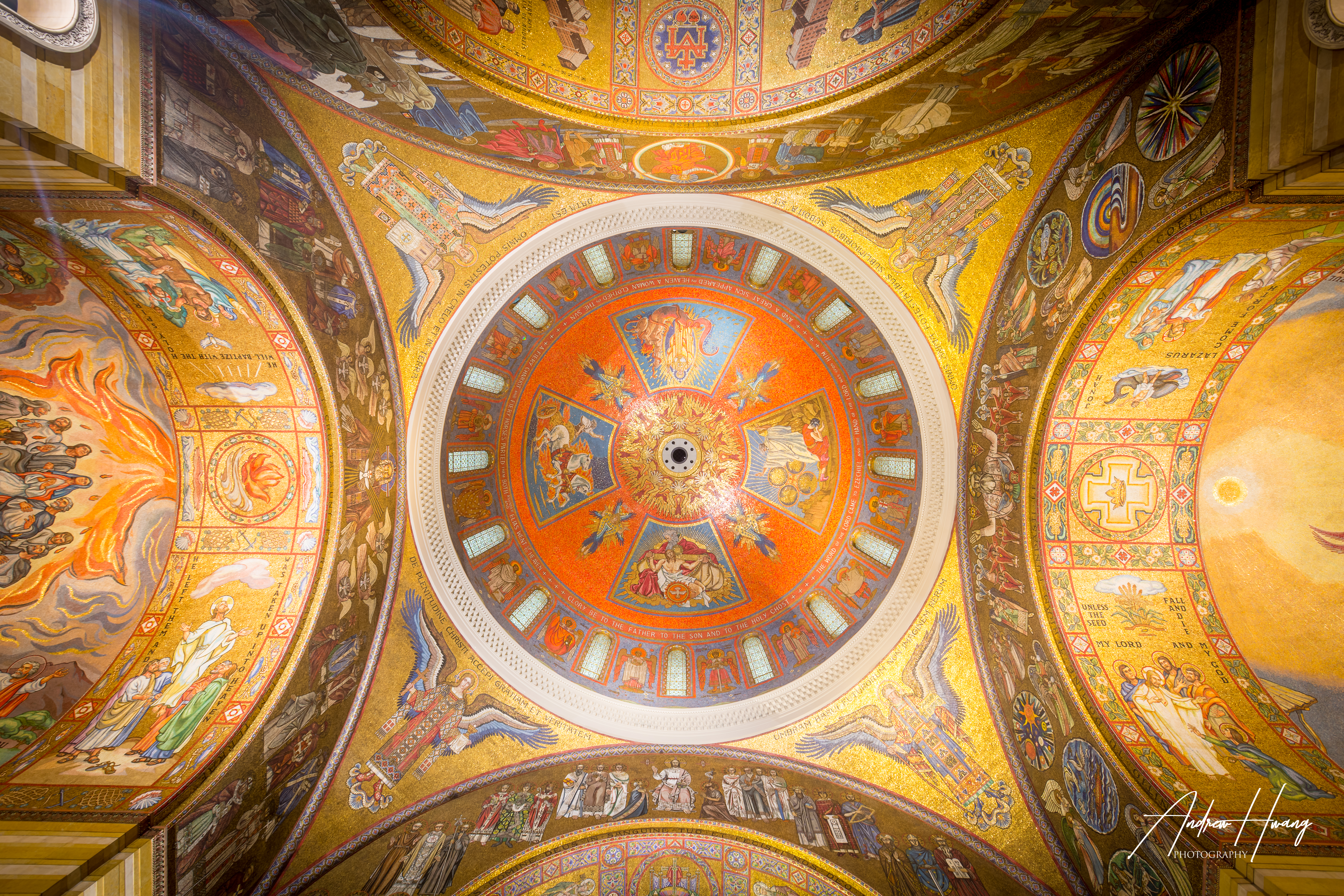 St Louis Cathedral Basilica Center Dome.