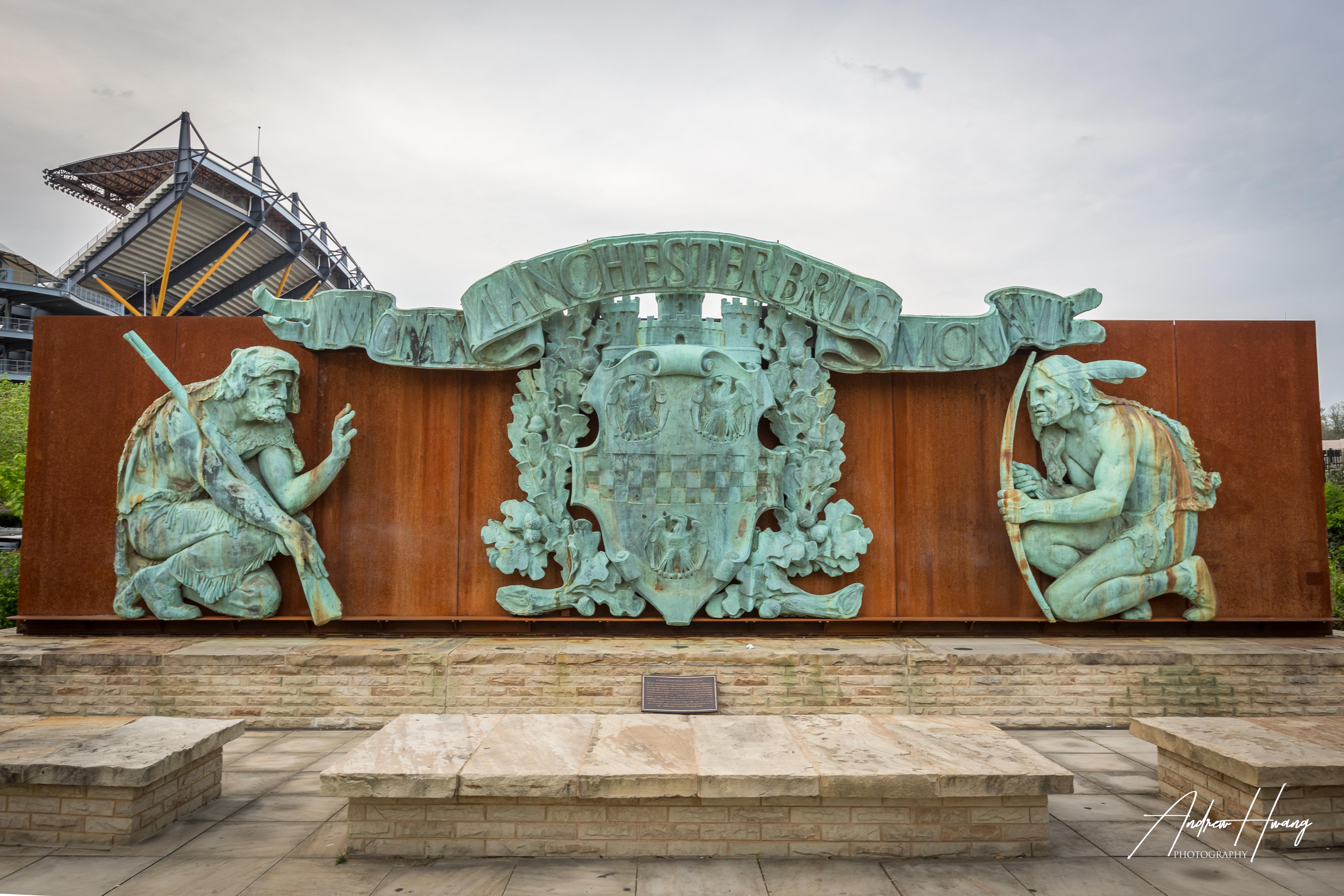 Heinz Field Manchester Statue