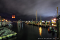Downtown Annapolis Blood Moon