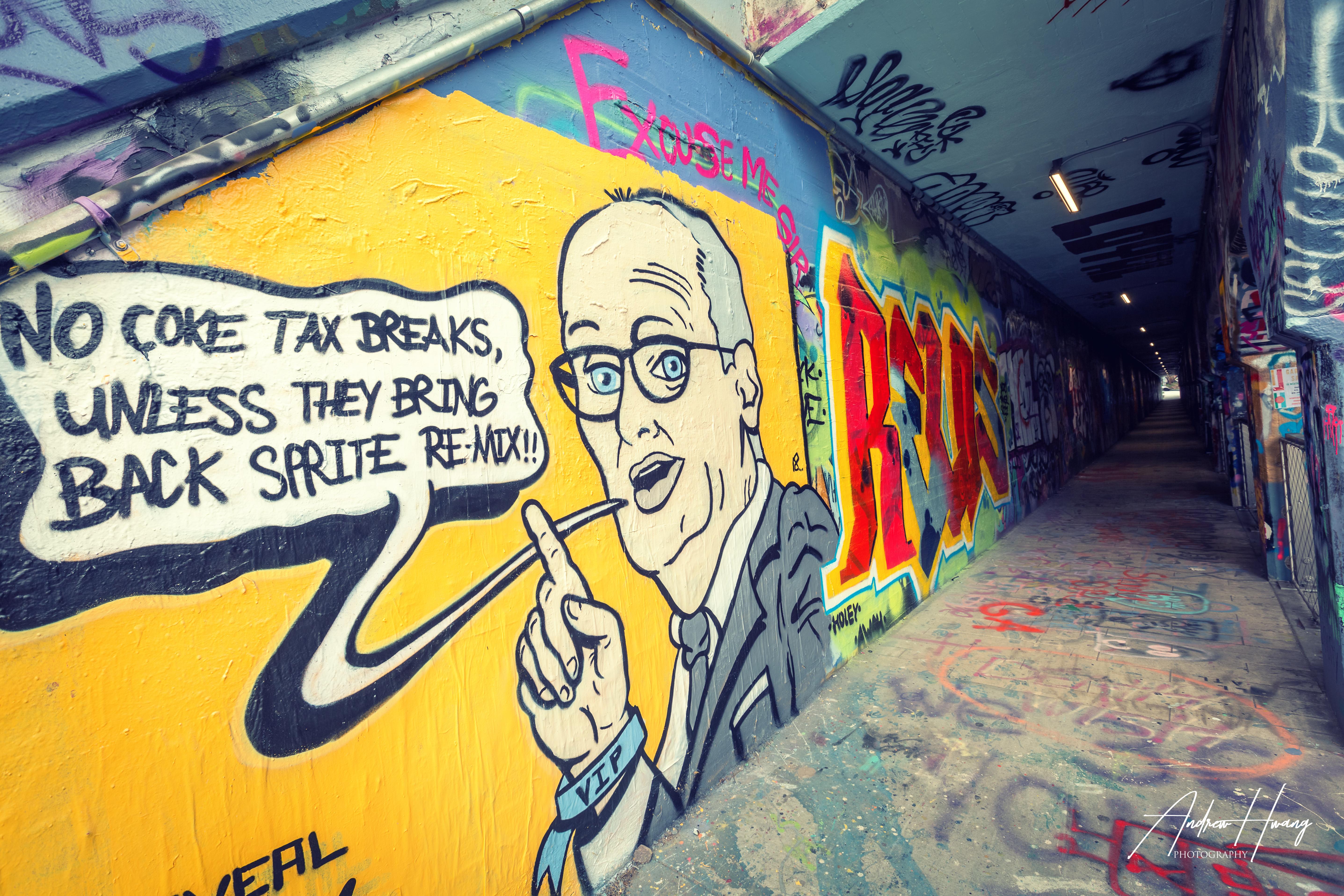 Krog Street Tunnel Cartoon