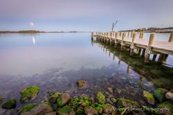St Georges Island Supermoon 2016 Pier