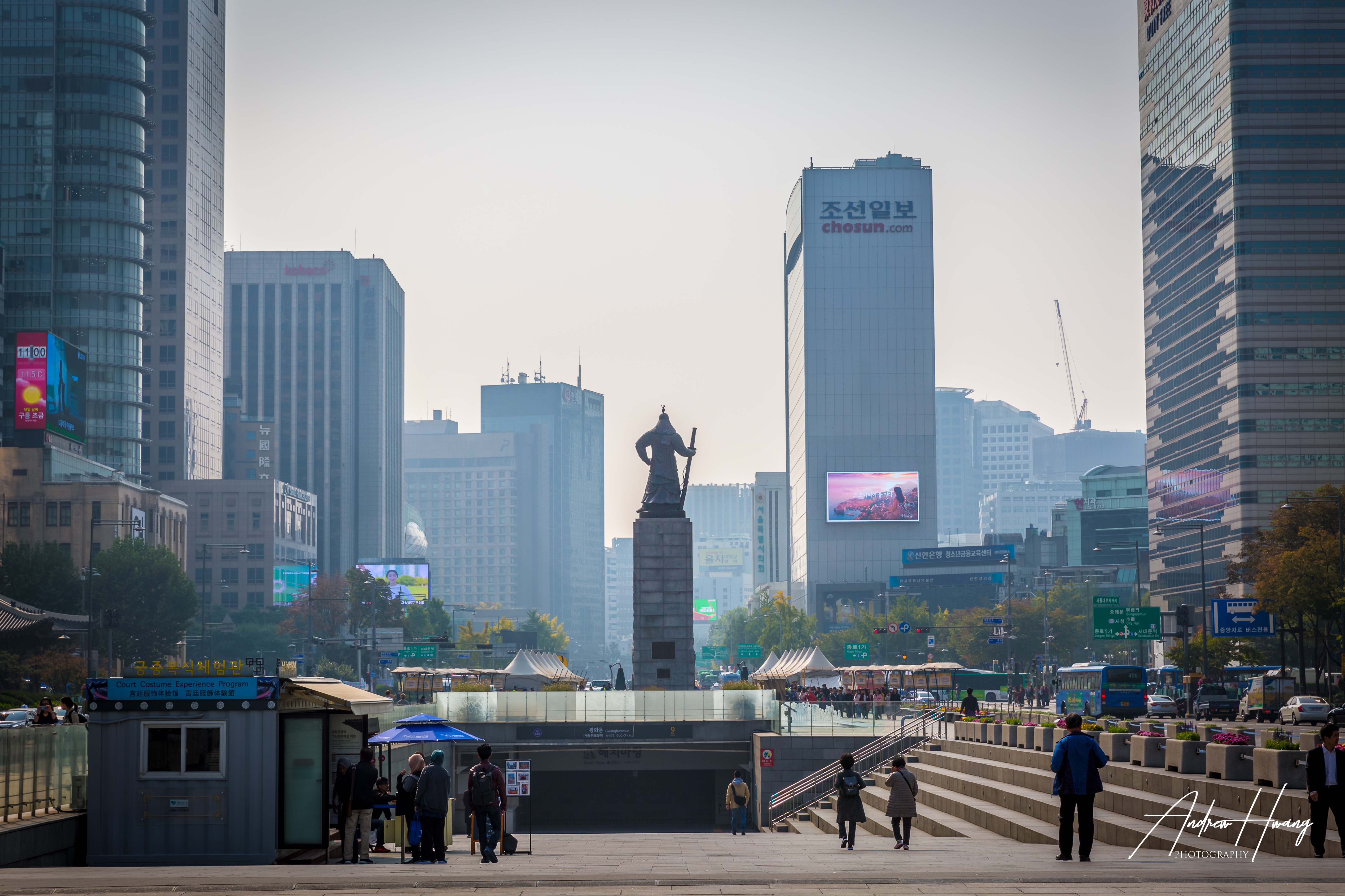 Gwanghwamun Square Seoul