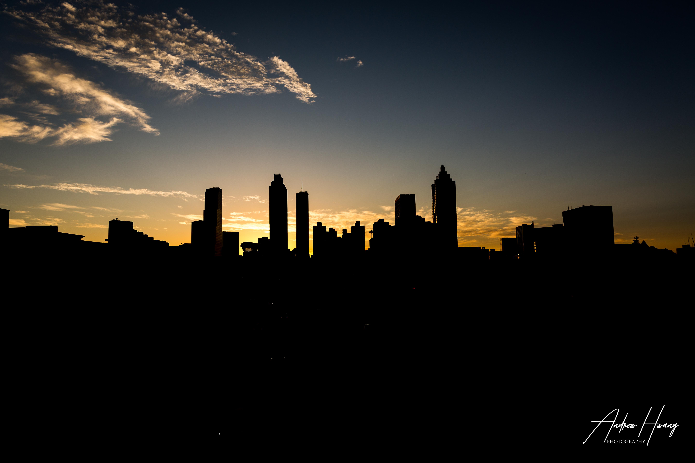Atlanta Skyline Silhouette