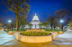 Wisconsin State Capitol Building - Sidew
