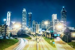 Atlanta Skyline - Jackson Street Overpas