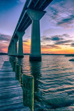 Thomas Johnson Bridge Sunset