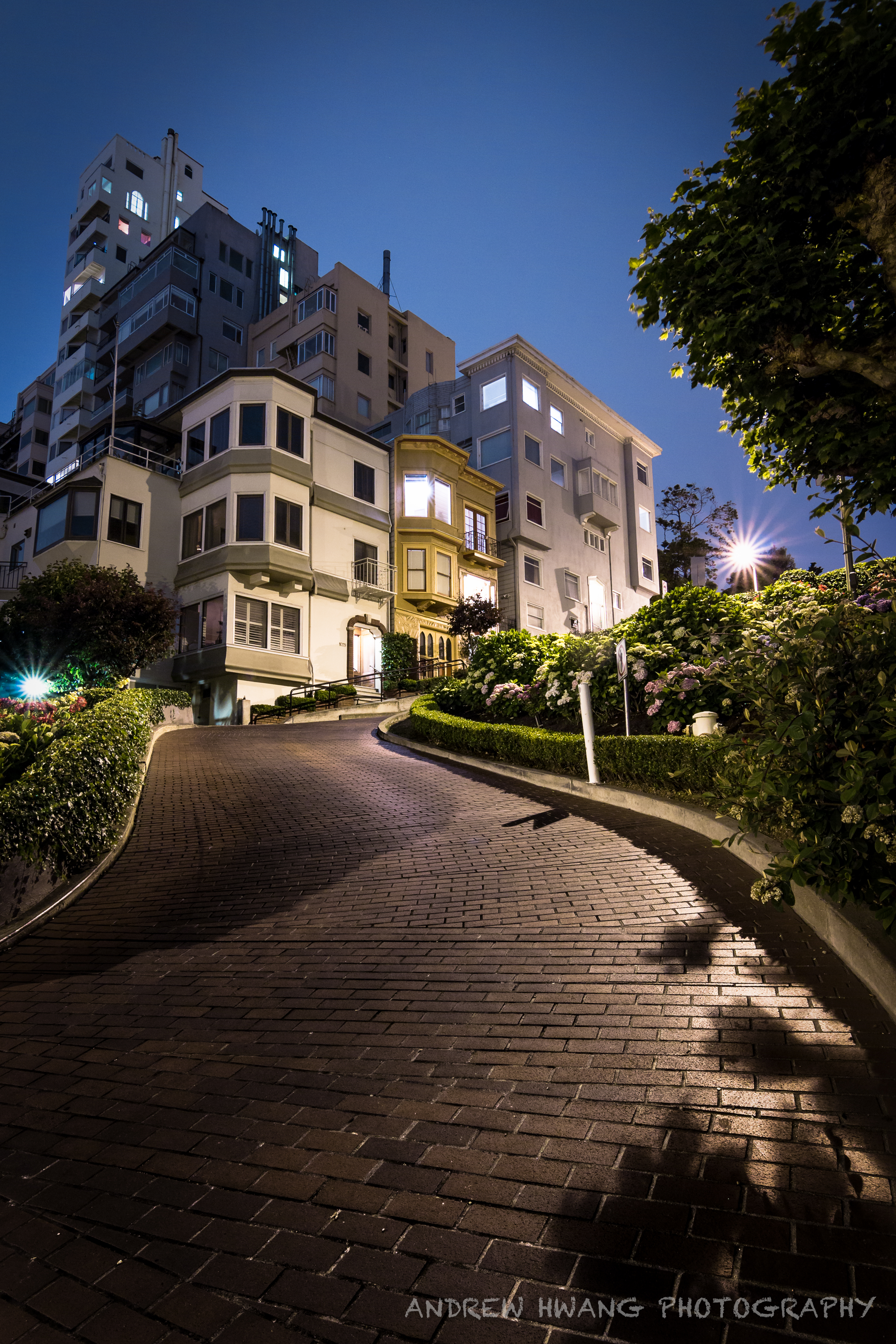Lombard Street Night
